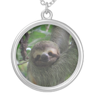 Smiling Sloth Necklace