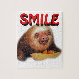smiling slothie puzzle