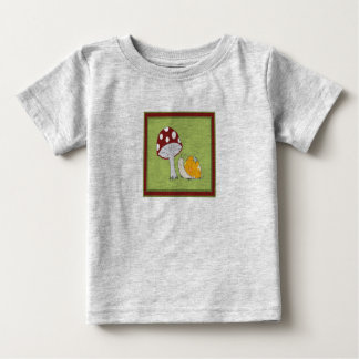 Smiling Snail by a Toadstool Shirt