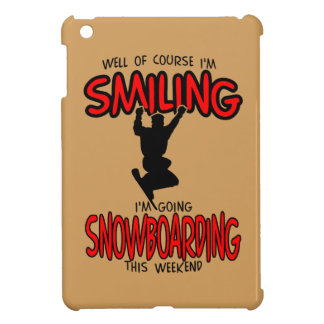 Smiling SNOWBOARDING weekend 2.PNG Cover For The iPad Mini
