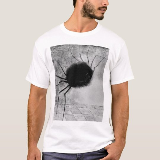 Smiling Spider by Odilon Redon, Vintage Halloween T-Shirt