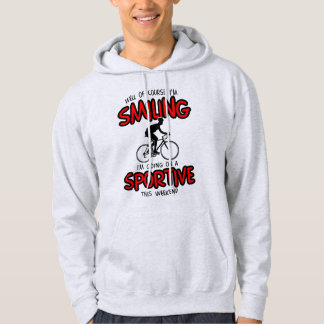 Smiling Sportive W/end Hoodie