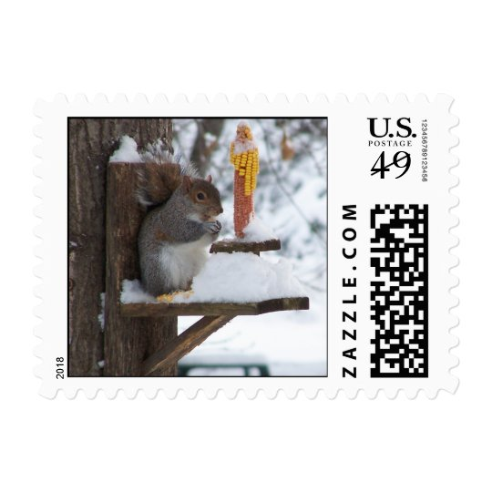 Smiling Squirrel Postage