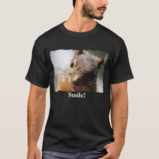 Smiling Squirrel T-Shirt