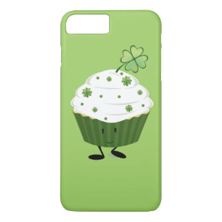 Smiling St. Patrick's day cupcake iPhone 7 Plus Case
