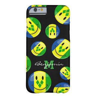 Smiling St. Vincent and Grenadines Flag Barely There iPhone 6 Case