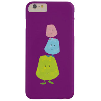 Smiling stack of gumdrops barely there iPhone 6 plus case