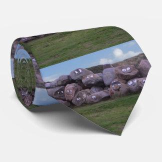Smiling Stones Tie
