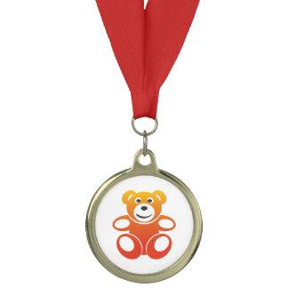 Smiling Summer Teddy Medal