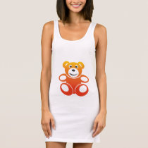 Smiling Summer Teddy Sleeveless Dress