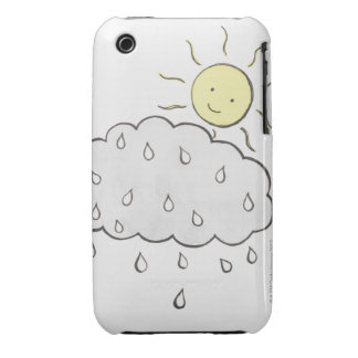 Smiling Sun 2 iPhone 3 Covers