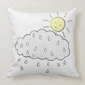 Smiling Sun 2 Throw Pillows