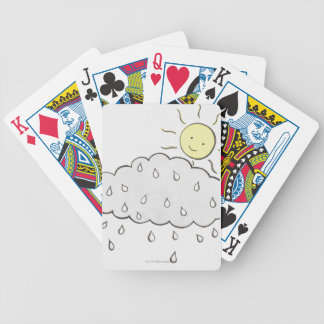 Smiling Sun 2 Bicycle Poker Cards