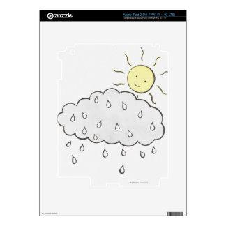 Smiling Sun 2 iPad 3 Decals