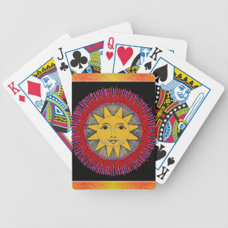 Smiling Sun Bicycle Playing Cards
