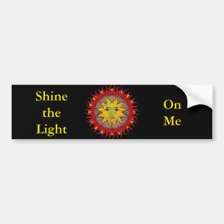 Smiling Sun Bumper Sticker