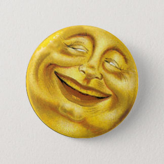 Smiling Sun Button