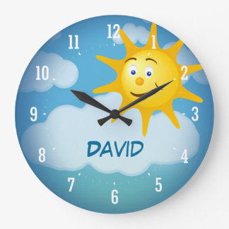Smiling Sun | Decorative Clock