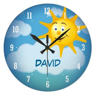 Smiling Sun | Decorative Clock