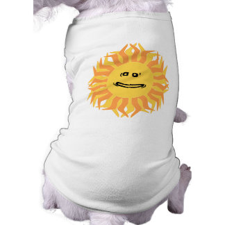 Smiling Sun Dog Clothes