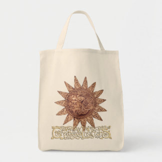Smiling Sun - Grocery Tote with Logo