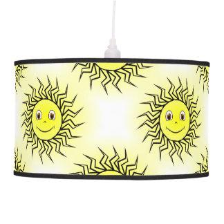 Smiling Sun Hanging Lamp