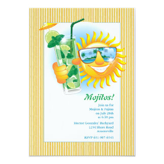 Smiling Sun Invitation