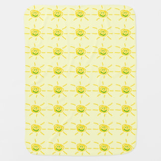 Smiling Sun Swaddle Blankets