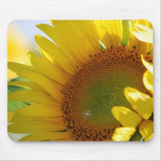 Smiling Sunflower Mousepad