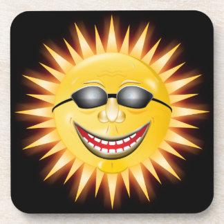 Smiling Sunshine Drink Coaster