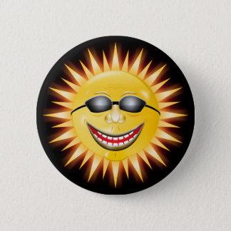 Smiling Sunshine Pinback Button