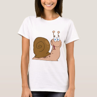 Smiling Super Snail T-Shirt