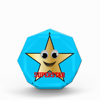 Smiling Superstar Character Gold Award