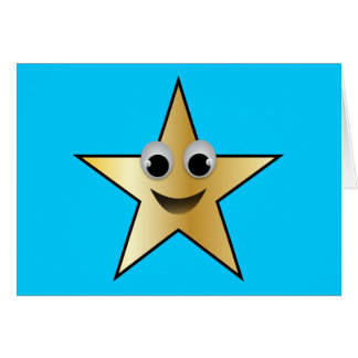 Smiling Superstar Character Gold Card