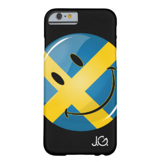 Smiling Swedish Flag Barely There iPhone 6 Case