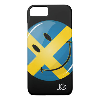 Smiling Swedish Flag iPhone 8/7 Case