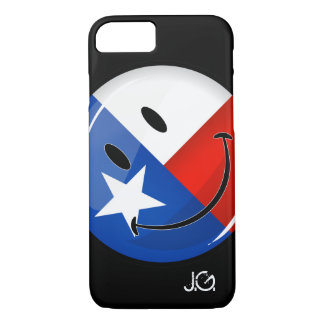 Smiling Texas Flag iPhone 7 Case