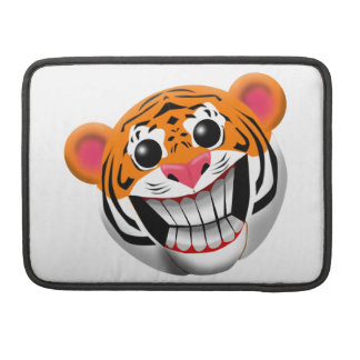 SMILING TIGER SLEEVES FOR MacBook PRO