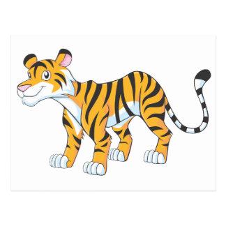 Smiling Tiger Post Cards