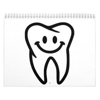 Smiling tooth calendar