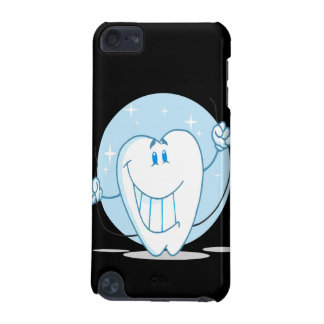 Smiling Tooth Cartoon Character Always Floss iPod Touch 5G Cover