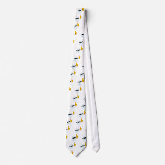Smiling Tooth Cartoon Character Number One Neck Tie