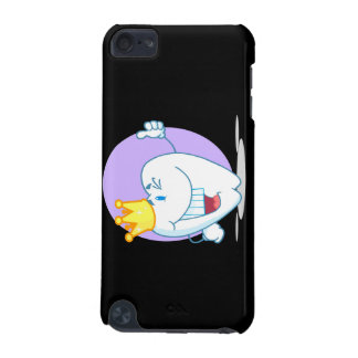 Smiling Tooth Cartoon Character With Golden Crown iPod Touch 5G Case
