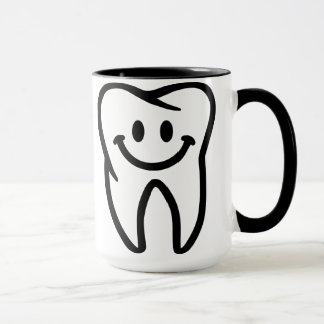 Smiling tooth mug