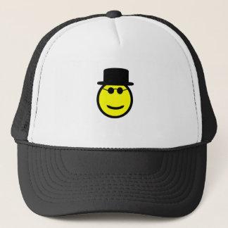 Smiling Tophat Trucker Hat