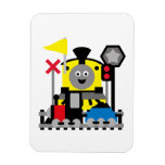 Smiling Train Flexible Magnet