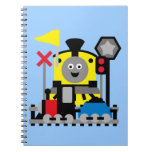 Smiling Train Spiral Notebooks