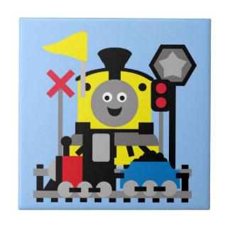 Smiling Train Tile