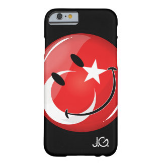 Smiling Turkish Flag Barely There iPhone 6 Case