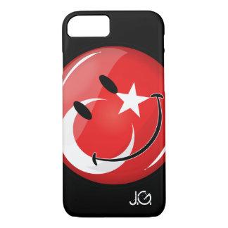 Smiling Turkish Flag iPhone 8/7 Case